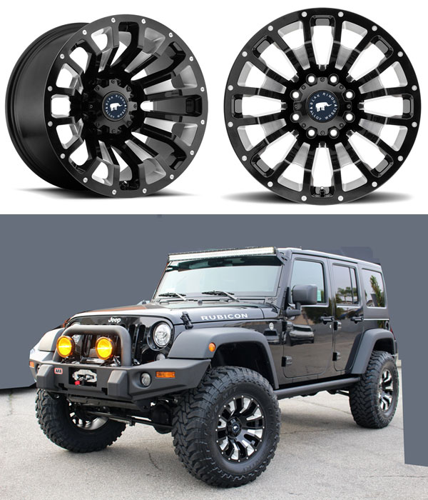 SUV alloy wheel